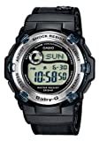 Casio -BG-3002V-1ER - Ladies Watch - Digital Quartz - Black Fabric Strap