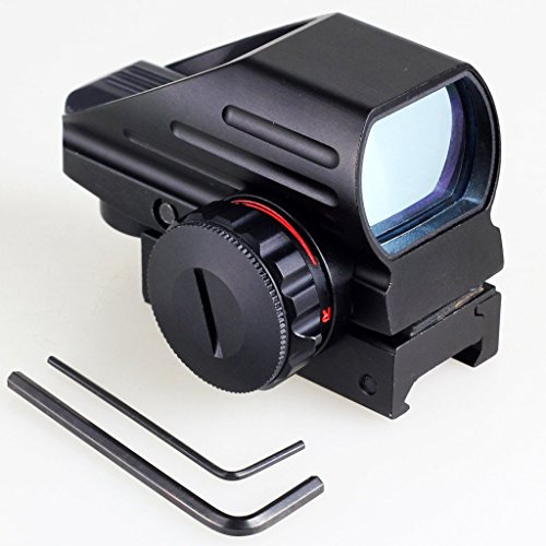 AbdTech Holographic Red and Green Dot Sight Tactical Reflex 4 Different Reticles