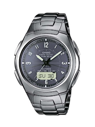 Casio WVA-430TDE-1A2VER Men's Wave Ceptor Radio Controlled Watch