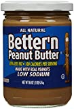 Better N Peanut Butter Low Sodium Low Fat Peanut Spread, 16 oz