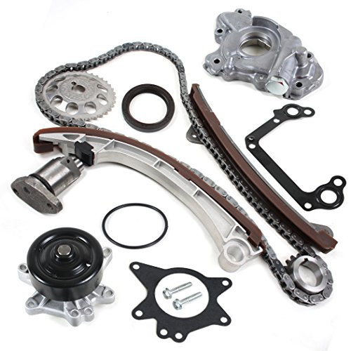 CNS TK1030WPOP Brand New OE Replacement Timing Chain Kit, Water Pump Set, & Oil Pump Set for VVT-i Engine