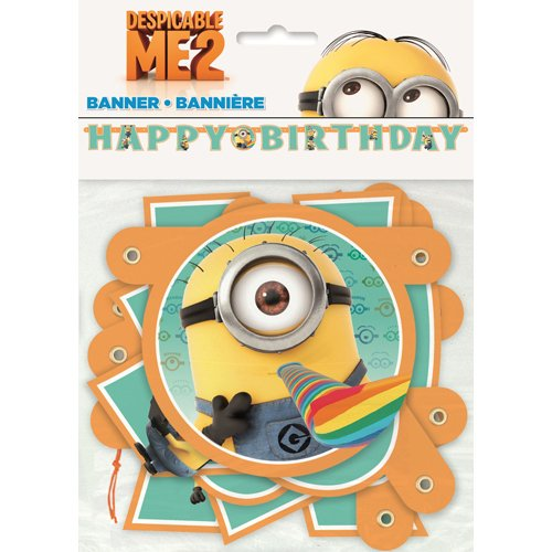 Despicable Me 2 Birthday Banner
