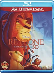 Il Re Leone (Special Edition) (3D) (Blu-Ray+Blu-Ray 3D+E-Copy)