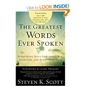 Download e-book The Greatest Words Ever Spoken: Everything Jesus Said About You, Your Life, and Everything Else (Thinline Ed.)