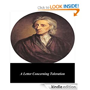 A Letter Concerning Toleration John Locke and First Rate Publishers