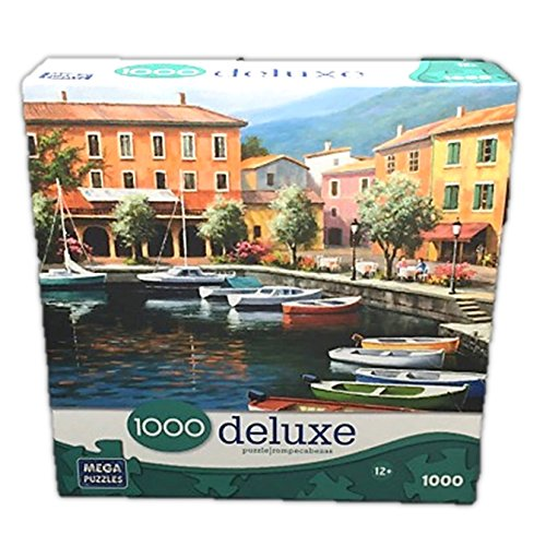 Deluxe 1000 Piece Jigsaw Puzzle: Over There Cafe