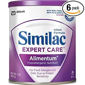 buy best price Similac Expert Care Alimentum Hypoallergenic Nutrition Formula, Powder, With Iron, 1-Pound (454 g) (Pack of 6)