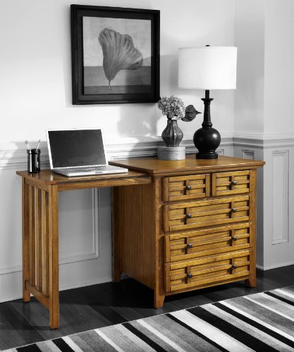 Home Styles 5180-93 Arts and Crafts Expand-a-Desk,