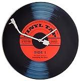 Horloge murale Vinyle Tap (D.43cm)