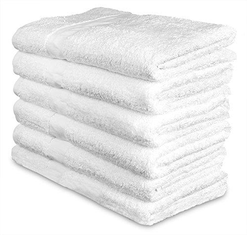 Gym Towel Online India: Cotton Bath Towels (6 Pack, 24 X 48 Inch)