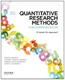 img - for Quantitative Research Methods for Communication: A Hands-On Approach book / textbook / text book