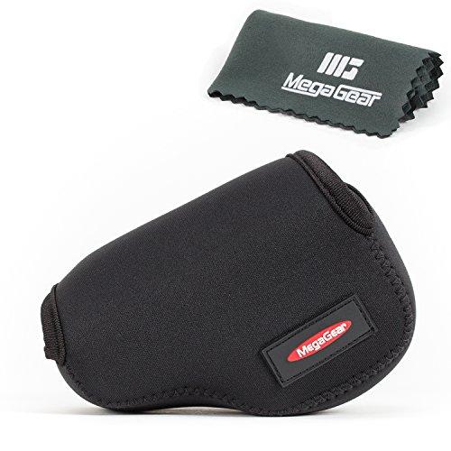 MegaGear ''Ultra Light'' Neoprene Camera Case Bag for Sony NEX-5TL, Sony NEX-5R, Sony NEX-3N with Sony SELP1650, Sony A5000, Sony A5100 16-50mm Lens