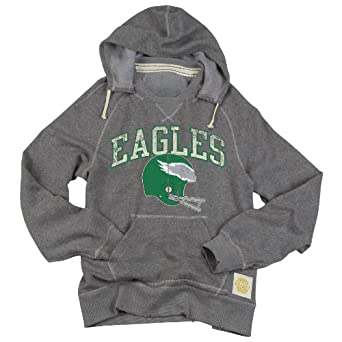 NFL Men's Philadelphia Eagles Buttonhook Melange Hoodie - B812AFFD7 (Siro Melange, Large)