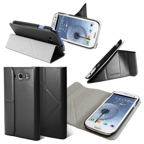 GreatShield ORI-Style (Origami) Leather Case