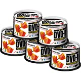 三菱化学 録画用DVD-R4.7GB 1-16倍速 250枚(50枚スピンドルケース入×5) VHR12JPP50C/60197160