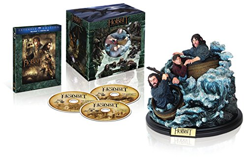 The Hobbit: The Desolation of Smaug Extended Edition + Figurine (Bilingual) [Blu-ray +UltraViolet]