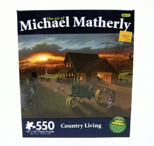Country Living 550 Piece Puzzle by Michael Matherly