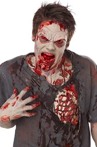 [8eighteen Zombie Rib Pack Halloween Costume Accessory] (Zombie Ribs Costume)