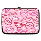 AnHome Unique Design Sexy Pink Lips Sleeve for Macbook Pro / Sleeve for Laptop / Notebook Computer / Macbook / MacBook Pro / MacBook Air 11''