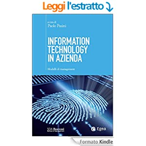 Information technology in azienda: Modelli di management (SDA - Nuova Cultura d'Impresa)
