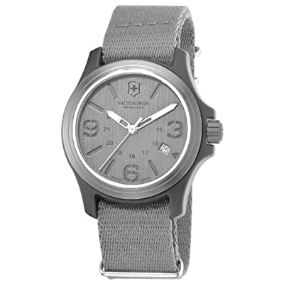 Victorinox Swiss Army Men's 241515 Original Grey Dial and Strap Watch Watch