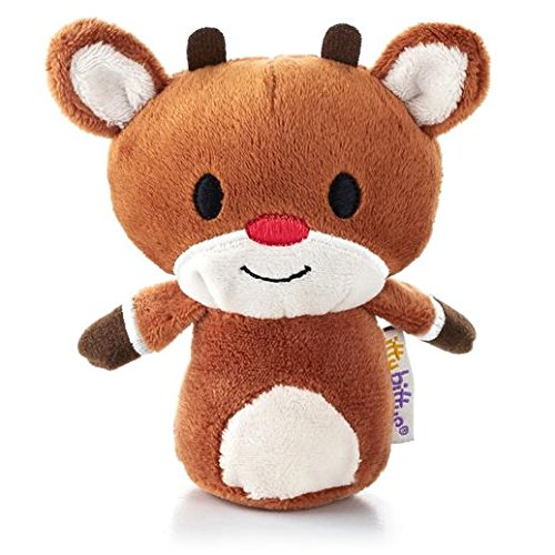 Hallmark Christmas XKT1435 Rudolph The Red Nosed Reindeer Itty Bitty Plush