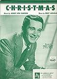 img - for C-h-r-i-s-t-m-a-s- / Perry Como / Jenny Lou Carson / Eddy Arnold book / textbook / text book