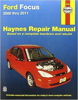 ford focus haynes repair manual for 2000 thru 2007 pdf. Black Bedroom Furniture Sets. Home Design Ideas