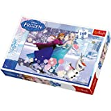 Disney Frozen Ice Skating Jigsaw Puzzle - 160 Pieces