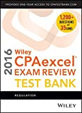 img - for Wiley CPAexcel Exam Review 2016 Test Bank: Regulation book / textbook / text book