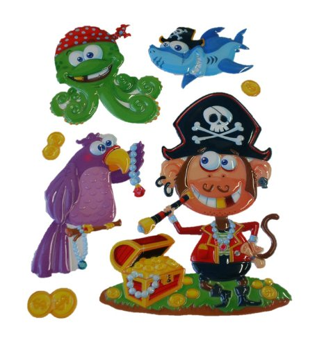 Craft Decor Puffy Wall Art (Pirate and Treaures)