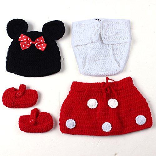 Imagen 5 de Feichen bebé Traje Foto fotografía apoya la Proposición del niño que arropan el sistema (ratones)