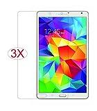 【VSTN】Samsung Galaxy Tab S 8.4 専用 超薄型 高透過率 光沢液晶保護フィルム(3 pack)