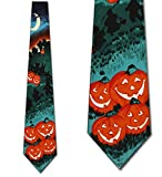 Pumpkin Patch Neck Ties Halloween Mens Neckties