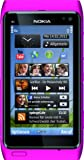 Nokia N8 Smartphone (8,9 cm (3,5 Zoll) Display, Touchscreen, WiFi, 12 Megapixel kamera) pink