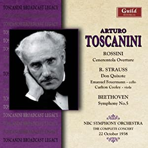 Toscanini Conductos Rossini Strauss & Beethoven