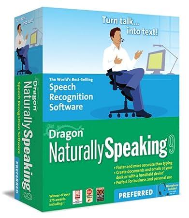 Nuance Dragon NaturallySpeaking 9 (Preferred Edition) (PC)
