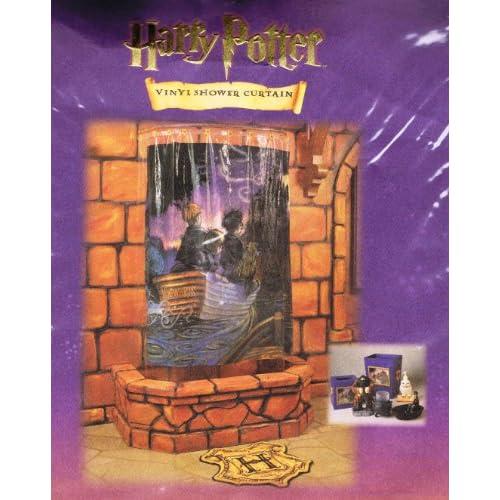 "Amazon.com - Harry Potter Vinyl Shower Curtain ""Journey to Hogwarts"" -"