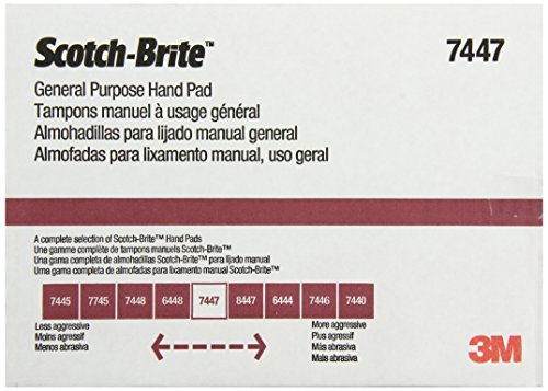 3M Scotch-Brite General Purpose Hand Pad, 6-Inch by 9-Inch, 20-Pad photo