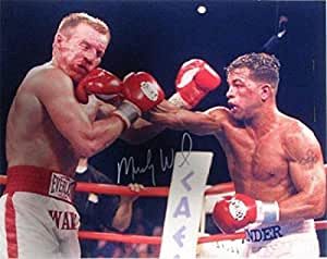 Amazon.com: Micky Ward Signed Photo - Color Unframed - Autographed