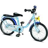 """PUKY - Z6 Vélo enfant garçon 16 """" - bleu océan 2015"""