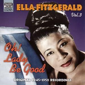 Ella fitzgerald fitzgerald ella oh lady be good mainstream jazz