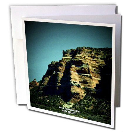 Sandy Mertens New Mexico - Zuni Reservation - 12 Greeting Cards with envelopes (gc_48724_2)