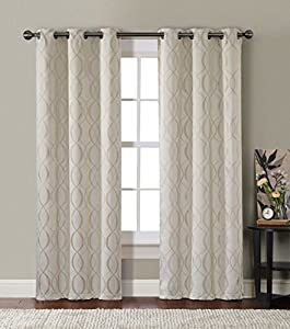 Elegant Comfort® 2 Piece Solid Sheer 60