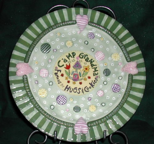 Camp Grandma Cookie Plate - Buy Camp Grandma Cookie Plate - Purchase Camp Grandma Cookie Plate (Camp Grandma, Home & Garden, Categories, Kitchen & Dining, Tableware, Plates)