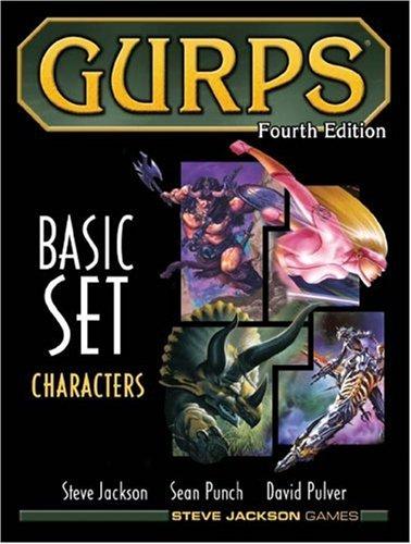 GURPS Basic Set Characters, Fourth Edition [Jackson, Steve - Pulver, David] (Tapa Dura)