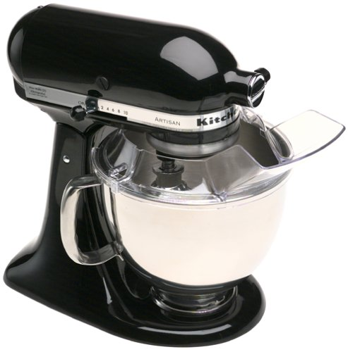 Factory-Reconditioned KitchenAid RRK150OB Artisan Series 5-Quart Mixer, Onyx Black