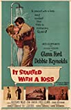 It Started With a Kiss Poster Movie 11x17 Debbie Reynolds Glenn Ford Eva Gabor Gustavo Rojo
