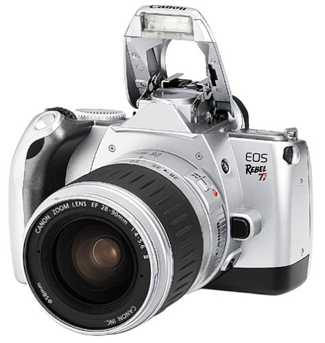 Cheapest Price! Canon EOS Rebel Ti 35mm SLR Kit w/ 28-90mm Lens (Discontinued by Manufacturer)