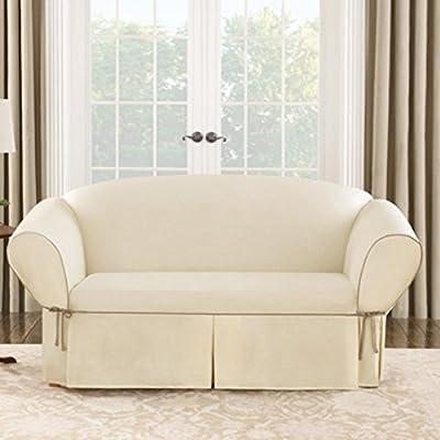 Sure Fit Cotton Duck Sofa Cover